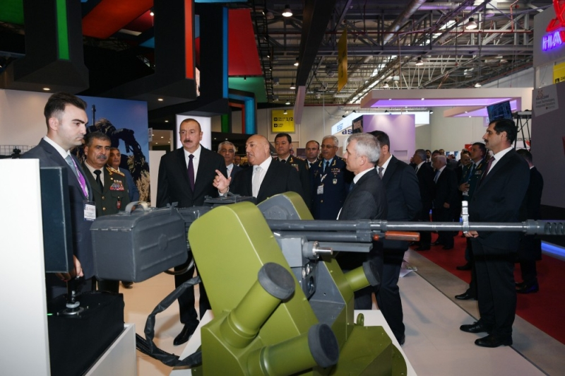 Azerbaijan Hosts Defense-Industry Exhibition and Courts Multiples Defense Partners