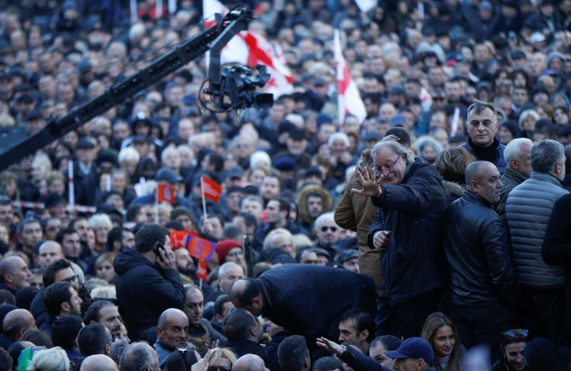Georgian Opposition Refuses To Recognize Results Of Presidential Election
