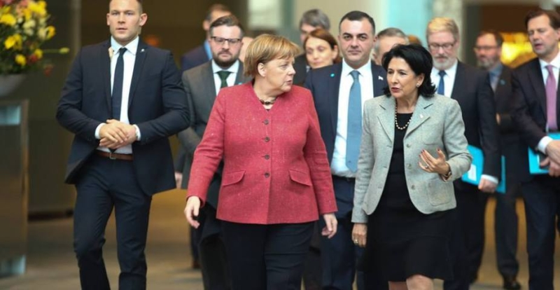 Georgian President Travels To Europe, Confirms Her Country's Pro-Western Course