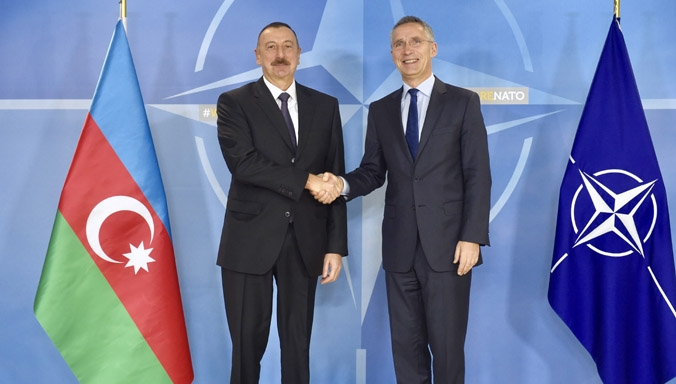 Amid Ongoing Occupation of Azerbaijani Lands & Army's High Alert, NATO Credits Ties With Baku