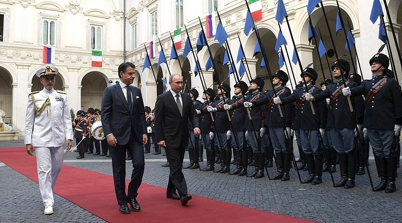 Putin's Rome Trip Highlights Italy's Importance To Russia