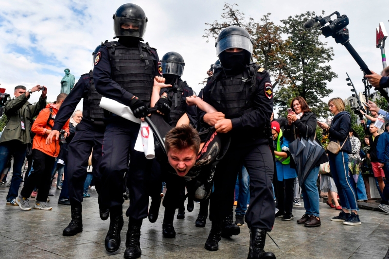 Fears Of Western 'Hybrid Warfare' & Suppression Of The Russian Opposition