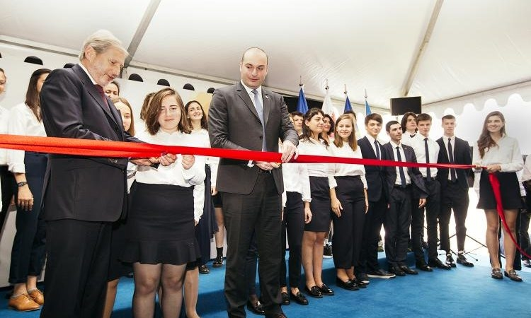 In Georgia, EU Opens First European School Outside The Bloc's Borders