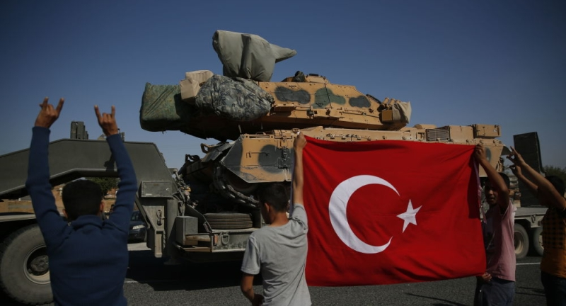 Int'l Pressure Mounts As Turkey's Operation Peace Spring Winds Up To Succeed