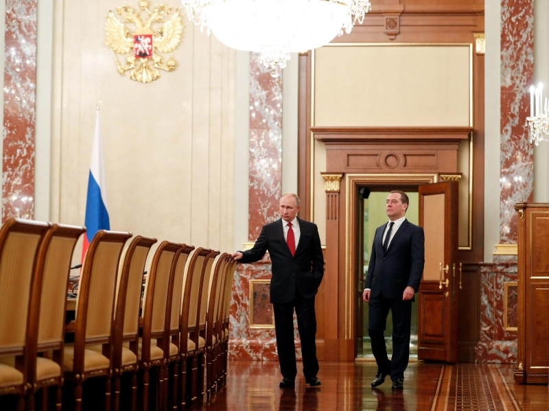 With Reshuffle At The Top, The Kremlin Consolidates Russia