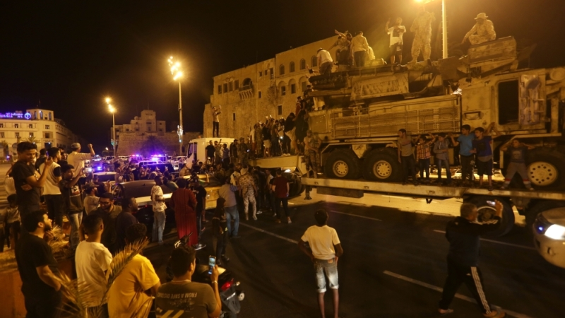 Moscow-Supported Forces Besieging Tripoli Retreat