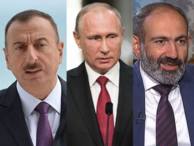 Azeri, Armenian Leaders In Moscow For Crucial Post-Karabakh Meeting