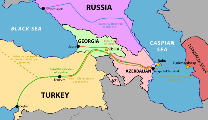 Security Of Azerbaijan's Oil-Gas Pipelines Before And After Karabakh War