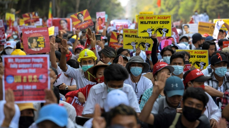 Military Coup In Myanmar - Responses In Geopolitical Context