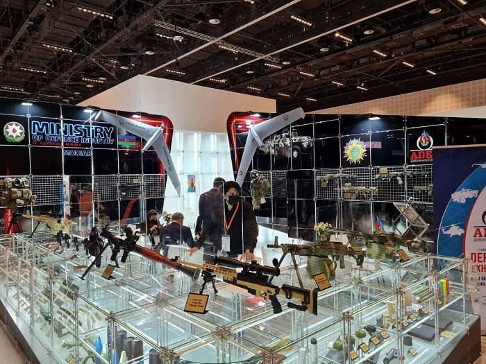 Azerbaijan Displays Homegrown Weapons At IDEX-2021 Defence Exhibition