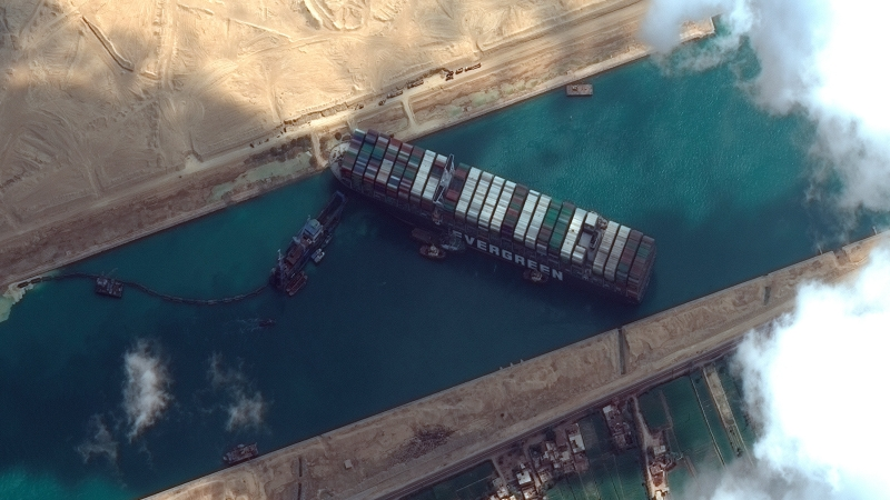 Suez Canal Incident: Lessons Learned for Geopolitics of Critical Infrastructures