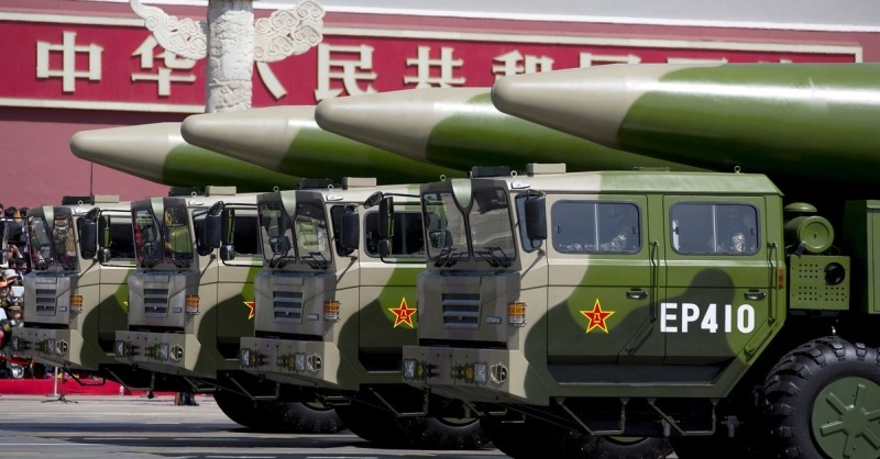 Caught Between China and US, Asian Countries Stockpile Missiles