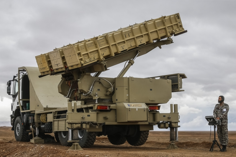 Iran Test-Fires Domestic Missile System