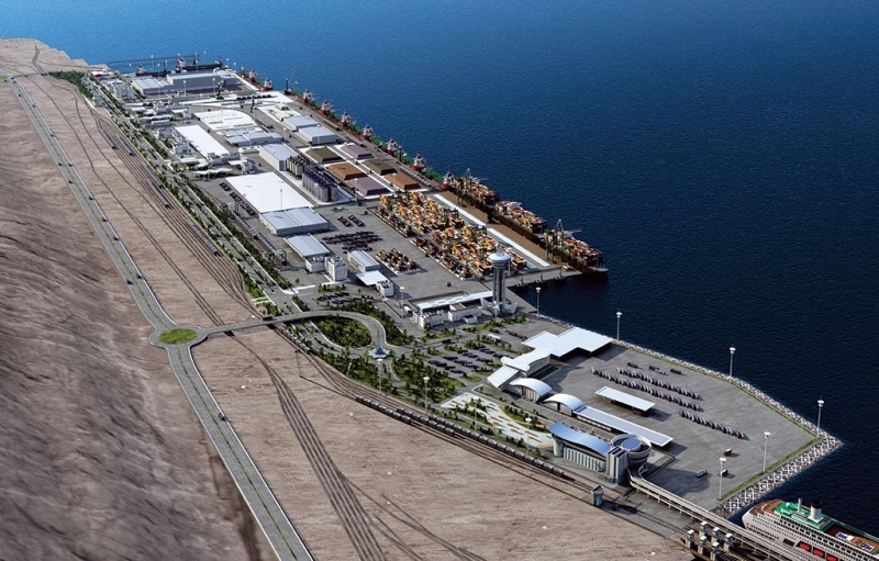 Turkmenistan's new Turkmenbashi International Seaport - another link in expanding Eurasian trade