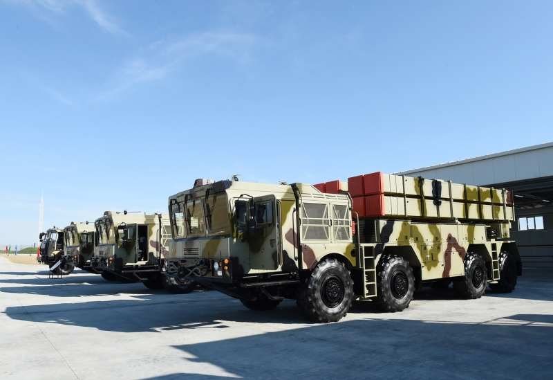 Azerbaijani army procures Belarus-made Polonez & Israeli-made Lora missile complexes