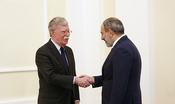 Annoyed At Bolton's Armenia Remarks, Moscow Shows Few Levers of Pressure On Yerevan