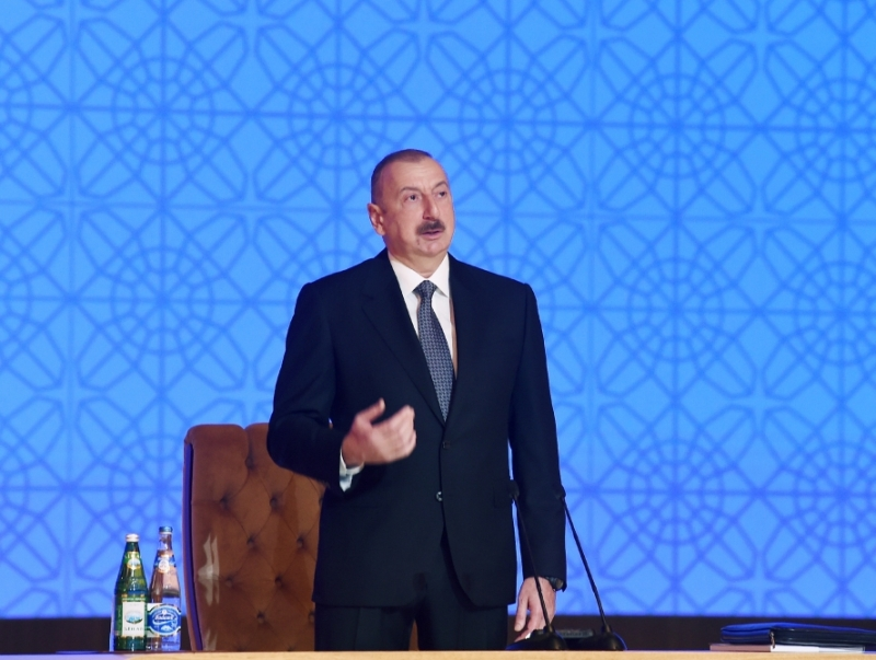 Azeri Leader Sums Up Key Achievements Of Government Over 16 Years
